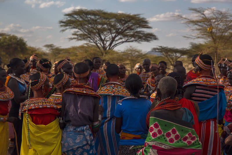 Samburu Ladies singing
