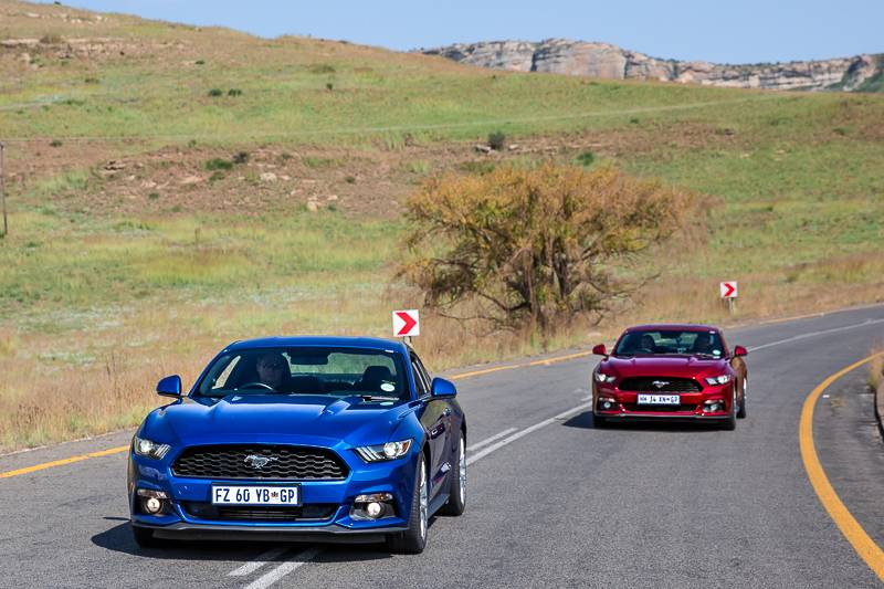 Road Tripping through South Africa and Lesotho in a Ford Mustang